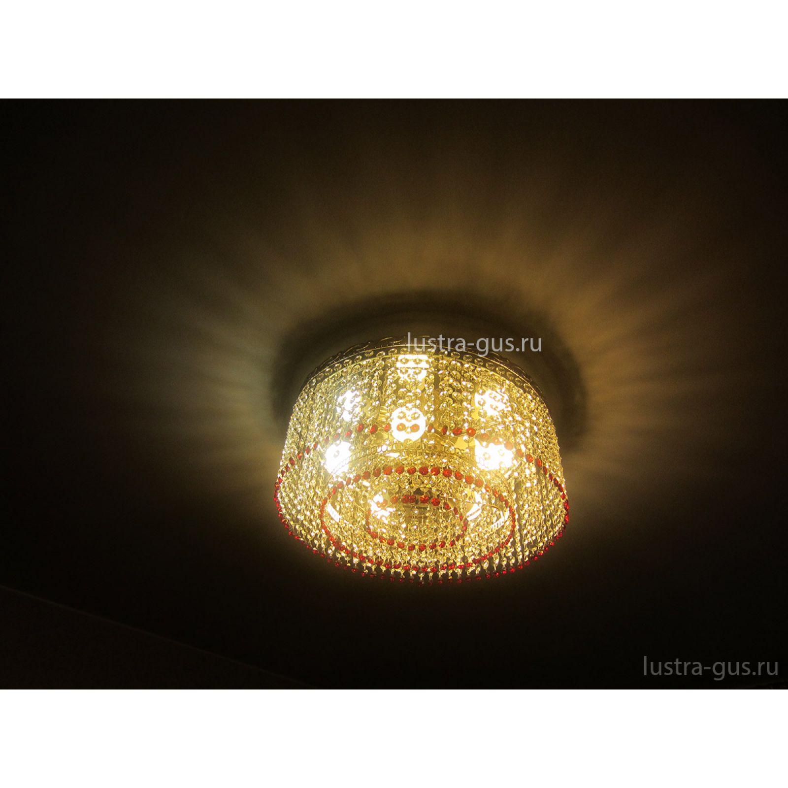 Люстра Капель обтикон 5 ламп
