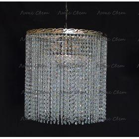 Потолочная люстра Капель цилиндр 5 ламп