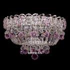Люстра Катерина шар розовая