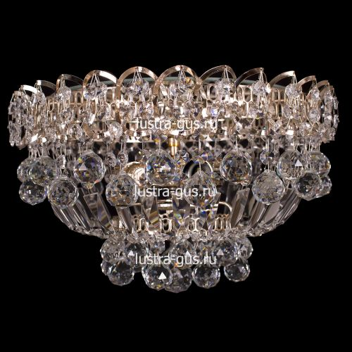Люстра Катерина Шар, диаметр 400 мм, цвет золото