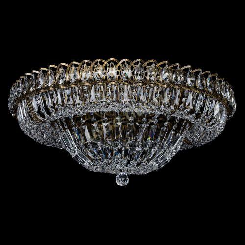 Люстра Кольцо Классика Пластинка под бронзу, диаметр - 700 мм, Люстры Гусь Хрустальный