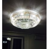 Люстра Кольцо Купол Пластинка, Диаметр - 700 мм,  8 ламп