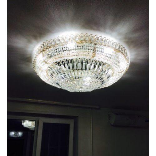 Люстра Кольцо Классика Пластинка, Диаметр - 700 мм,  8 ламп