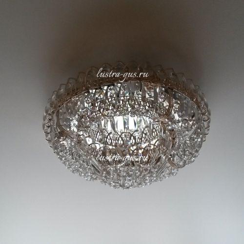 Люстра Кольцо Купол Пластинка, Диаметр - 450 мм (фото от покупателя)