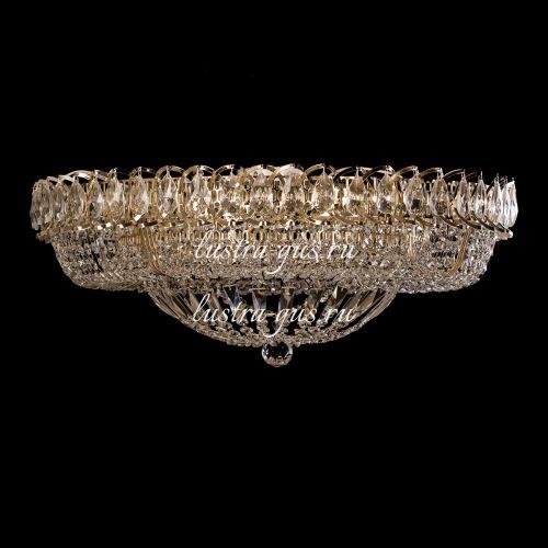 Люстра Кольцо Классика 600 мм, цвет: золото