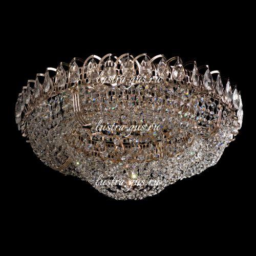 Люстра Кольцо Сетка, 450 мм, золото