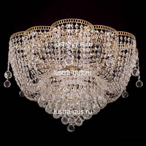 Люстра Лотос Александра, диаметр 600 мм, цвет золото