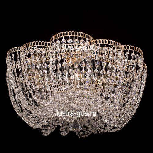 Люстра Лотос Елена, диаметр 500 мм, цвет золото