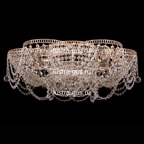 Люстра Лотос Ольга, диаметр 700 мм, цвет золото