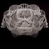 Люстра Лотос Пион Шар, диаметр 700 мм,  цвет серебро