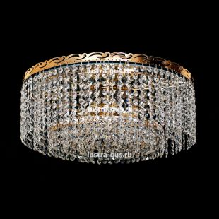 Люстра потолочная Капель обтикон 5 ламп