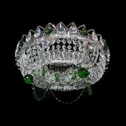 Кольцо Ожерелье Шар цветная