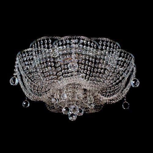 Люстра Ромашка №3, цвет фурнитуры: серебро