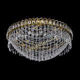 Люстра Водоворот Сетка 8 ламп под бронзу